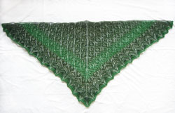 Heartland lace shawl